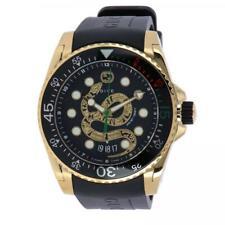 148241f0213 item 2 New Gucci Dive Black Dial Gold-Tone Rubber Strap Men s Watch  YA136219 -New Gucci Dive Black Dial Gold-Tone Rubber Strap Men s Watch  YA136219