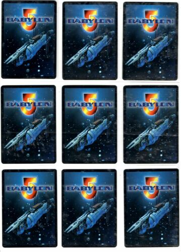 Babylon 5 ccg Crusade Rare cards Precedence 1//1