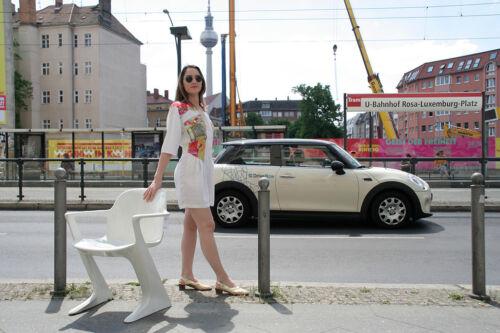 bianco Vintage frank anni D 90s colorato patchwork True '90 Bianco Jumpsuit Short 7XqqTaP