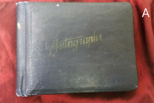 1930s-1937-1938-Autographs-amp-School-Day-Memories-Book-Pratt-High-School-Kansas
