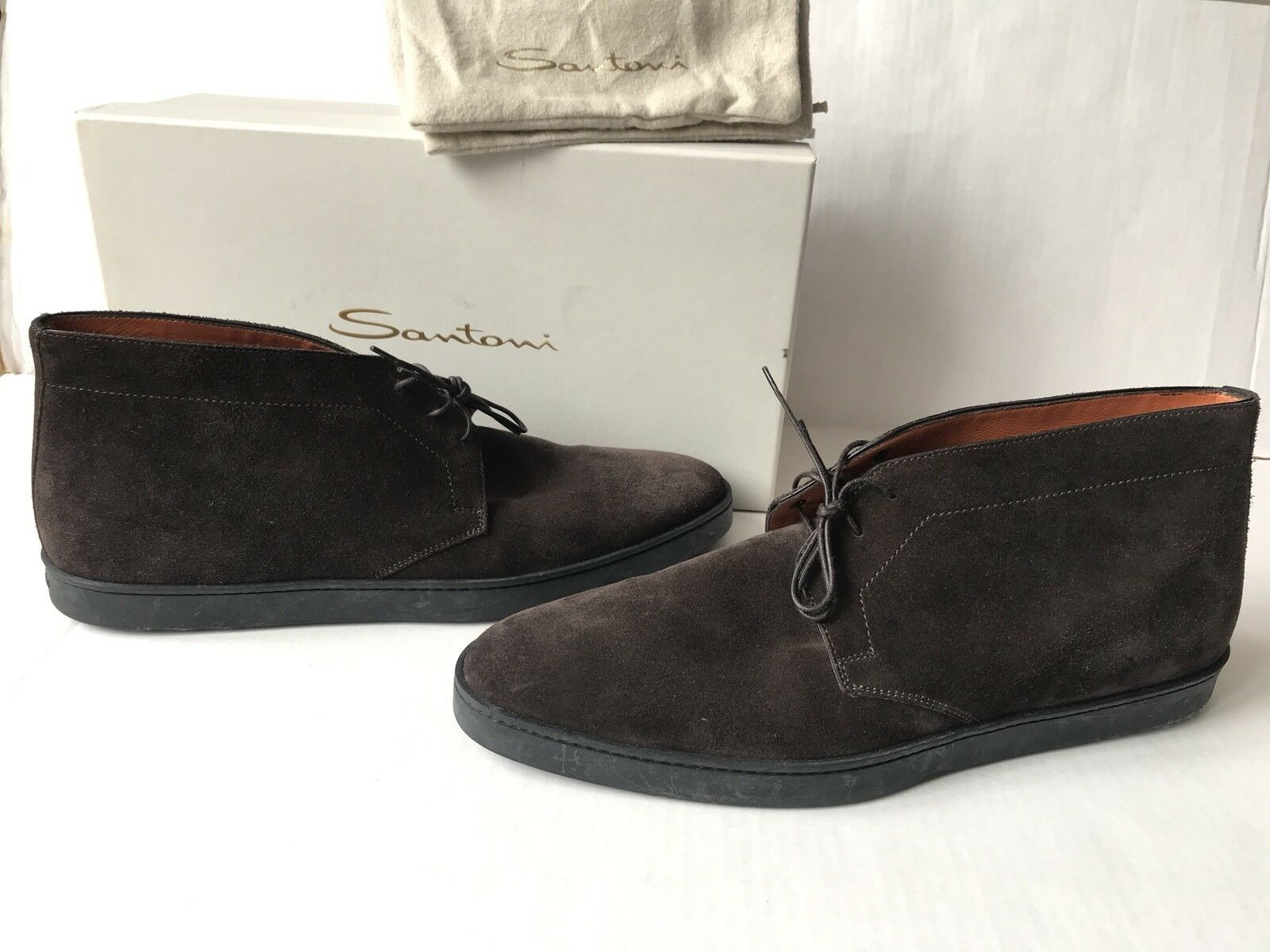 SANTONI Eddy Chukka Boot. Size 11.