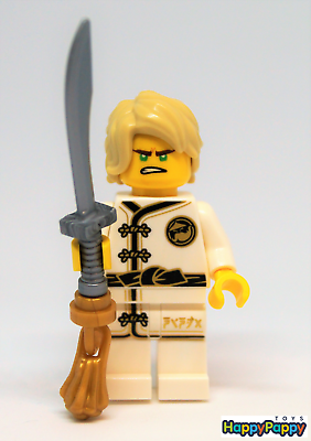 Adaptable Lego 10739 Ninjago Minifigur Lloyd White Wu-cru Training Gi Njo347 Neuware / New Vloeiende Circulatie En Pijn Stoppen