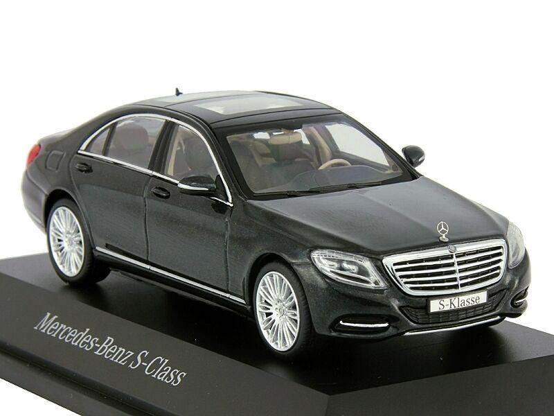 Tienda de moda y compras online. Mercedes Clase S S600 W222 Negro Negro Negro 1 43 Schuco  mejor opcion