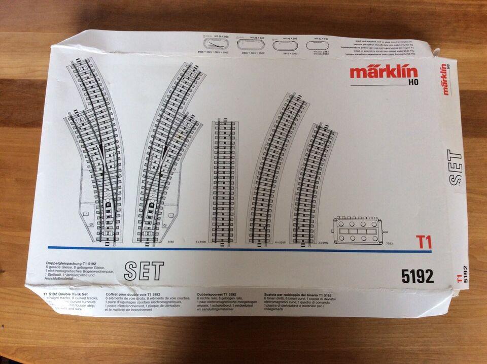 Modelbane, Märklin 5192