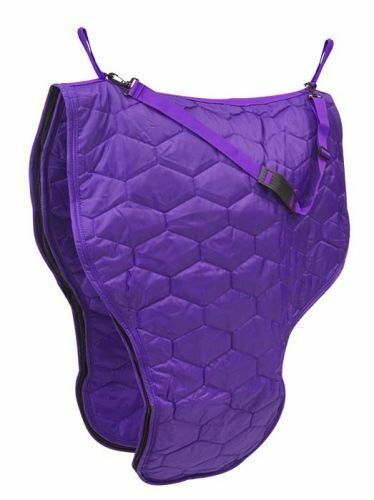 Showman PURPLE Heavy Diamond Quilted Nylon Western Saddle Carrier NEW HORSE TACK