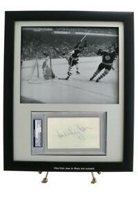 Delicious Framed Display Specifically-cut Psa/dna Slabbed Opening W/ 8 X 10 Photo Opening Index Cards