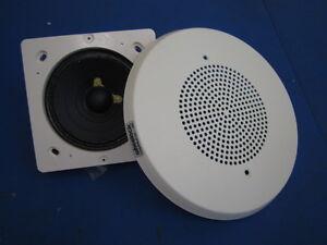 New Wheelock Round Ceiling Mounted Speaker White E90 W