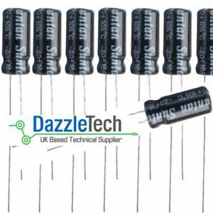 10uf-25V-electrolytic-capacitor-10U-Aluminium-radial-20-105-deg-Pack-of-20