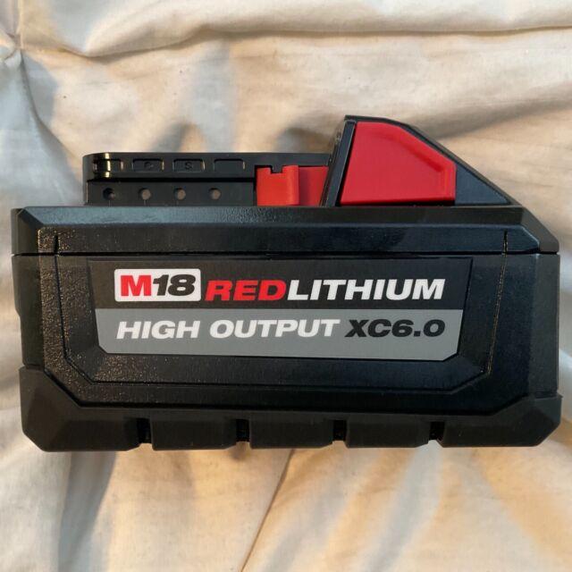 OEM GENUINE M18 Milwaukee 48-11-1865 6.0 AH Battery 18V XC6.0 18Volt High Output