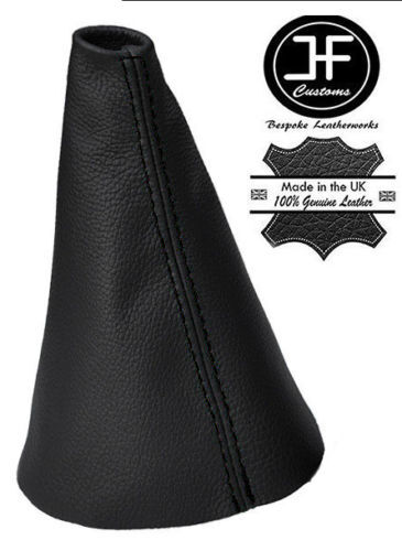 BLACK STITCH REAL LEATHER GEAR STICK GAITER FOR ROVER STREETWISE 2003-2005