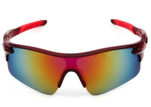 UV400 Lens Goggle Cycling Sunglasses Sport Eyewear Bike Riding Outdoor Glasses