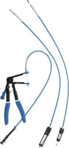 BGS Schlauchklemmenzange mit auswechselbaren Bowdenzügen 635-670mm