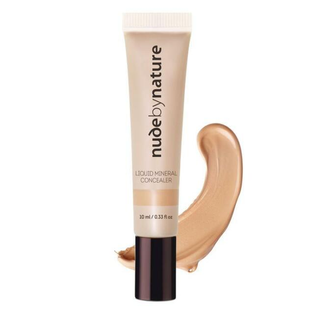 * NUDE BY NATURE LIQUID MINERAL CONCEALER 10ML FOR MEDIUM SKIN TONES
