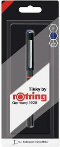 Rotring-Tikky-Rollerpoint-Stylo-Fin-Bleu-Encre-Simple-Stylo