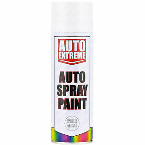 3 x 400ml white gloss spray paint aerosol can auto extreme car van bike etc ebay. Black Bedroom Furniture Sets. Home Design Ideas