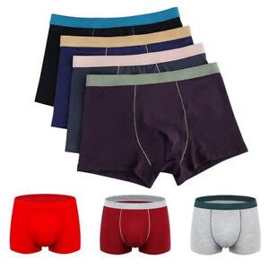 959b61b2fd1 Men s Stretch Cotton Plus Size Boxer Briefs Underwear Trunk Shorts ...