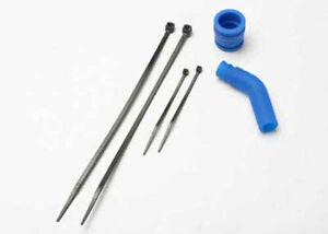 Traxxas-1-10-Jato-3-3-Tubo-acoplador-de-escape-Deflector-amp-Lazos-5245