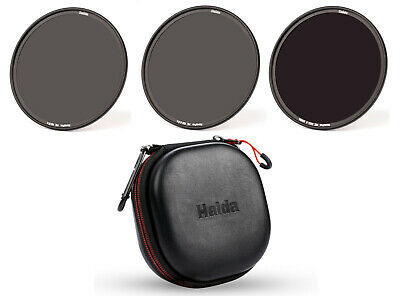 6 Stop Optical Glass ICE 77mm 6 Filter Set ND//CPL ND1000 ND64 ND8 ND4 UV /& Wallet Neutral Density 77 10