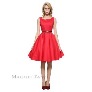 3fe92fd424b8 Maggie Tang 50s VTG Retro Hepburn Pinup Rockabilly Housewife Swing ...