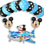 New-Disney-Mickey-Mouse-Birthday-Foil-Latex-Balloons-Plane-Party-Decorations-Boy thumbnail 10