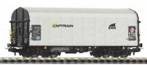 Piko-58964-HO-Gauge-Expert-Captrain-Tarpaulin-Wagon-VI