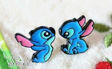 Disney lilo&stitch stitch metal earring ear stud unisex earrings 2PCS anime Stud