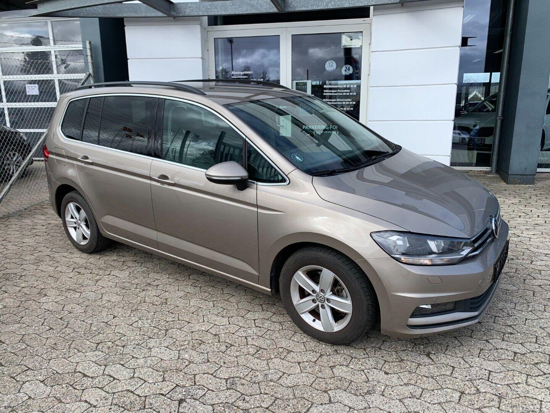 VW Touran 1,4 TSi 150 Comfortline DSG 7prs 5d - 289.800 kr.