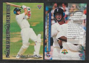 JOHN-CRAWLEY-England-1994-FUTERA-ASHES-SUPER-SERIES-CRICKET-CARD-SS28