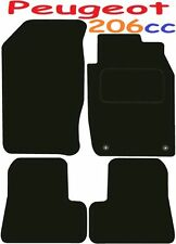 Deluxe Quality Car Mats for Peugeot 206Cc 01-07 ** Tailored for Perfect fit ;) *