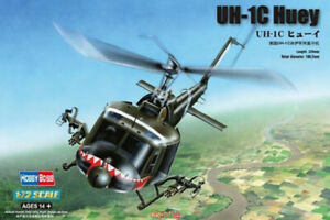 Hobbyboss-1-72-87229-UH-1C-Huey-Model-Kit-Hot