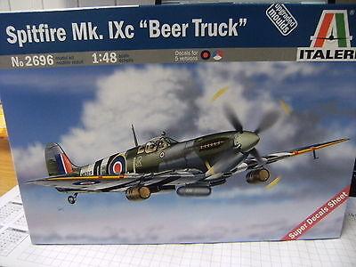 Eduard Spitfire Mk.IXc Ätzteile Cockpit Gurte Instrumente 1:48 TIPP NEU Weekend