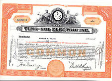 Tung-Sol-Electric, Inc-1 shares von 1956
