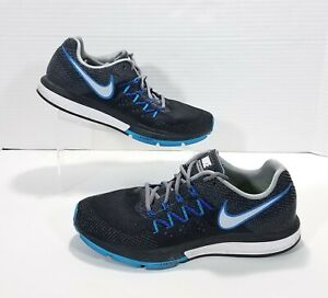 a3e453e975f Nike Air Zoom Vomero 10 Mesh Running Shoes Mens 10 Black Gray Blue ...
