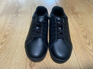 M&S Boys School Shoes (Size 6L) Leather Uppers