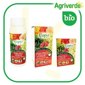 PIRETRO VERDE Insetticida liquido naturale 50 - 200 - 500 - 2x500 ml Copyr BIO