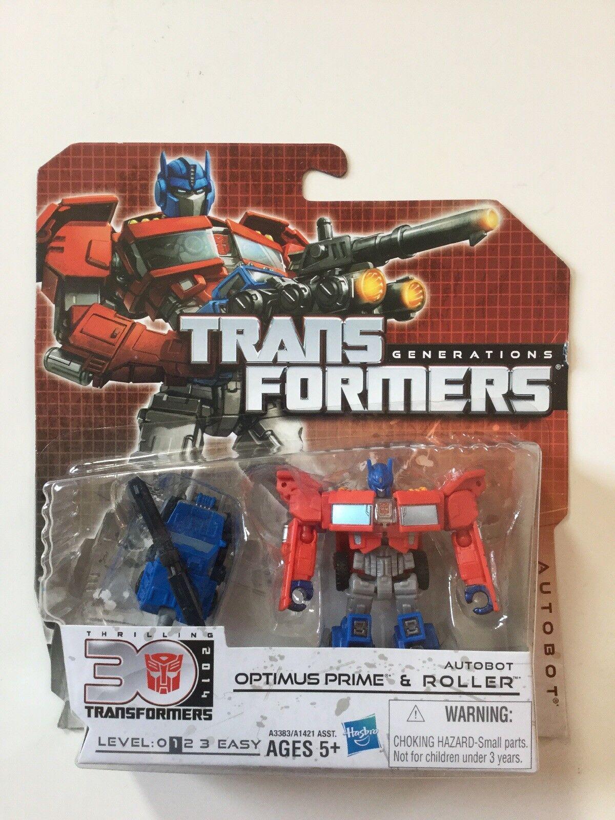 Transformers Transformers Transformers Generations Thrilling 30 Optimus Prime And Roller e31720