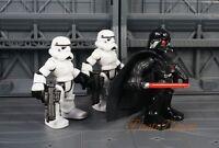 Hasbro Playskool Star Wars Darth Vader Stormtrooper Figure Model K1156 Set 3