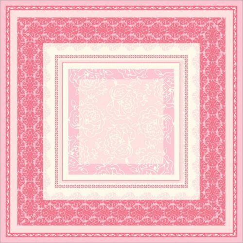 20 Tischdecke Thea in altrosa aus Linclass® Airlaid 80 x 80 cm Ornamente
