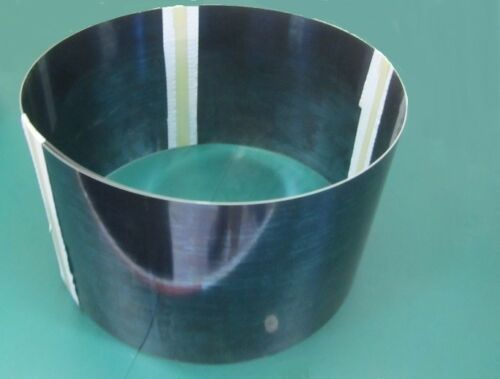 """Blue Tempered Spring Steel Shim 0.015/"""" Thick x 10/"""" Width x 120/"""" Length"""