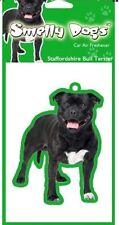 Staffordshire Bull Terrier Air Freshener Staffy Tree Dog Cute Novelty Gift SALE