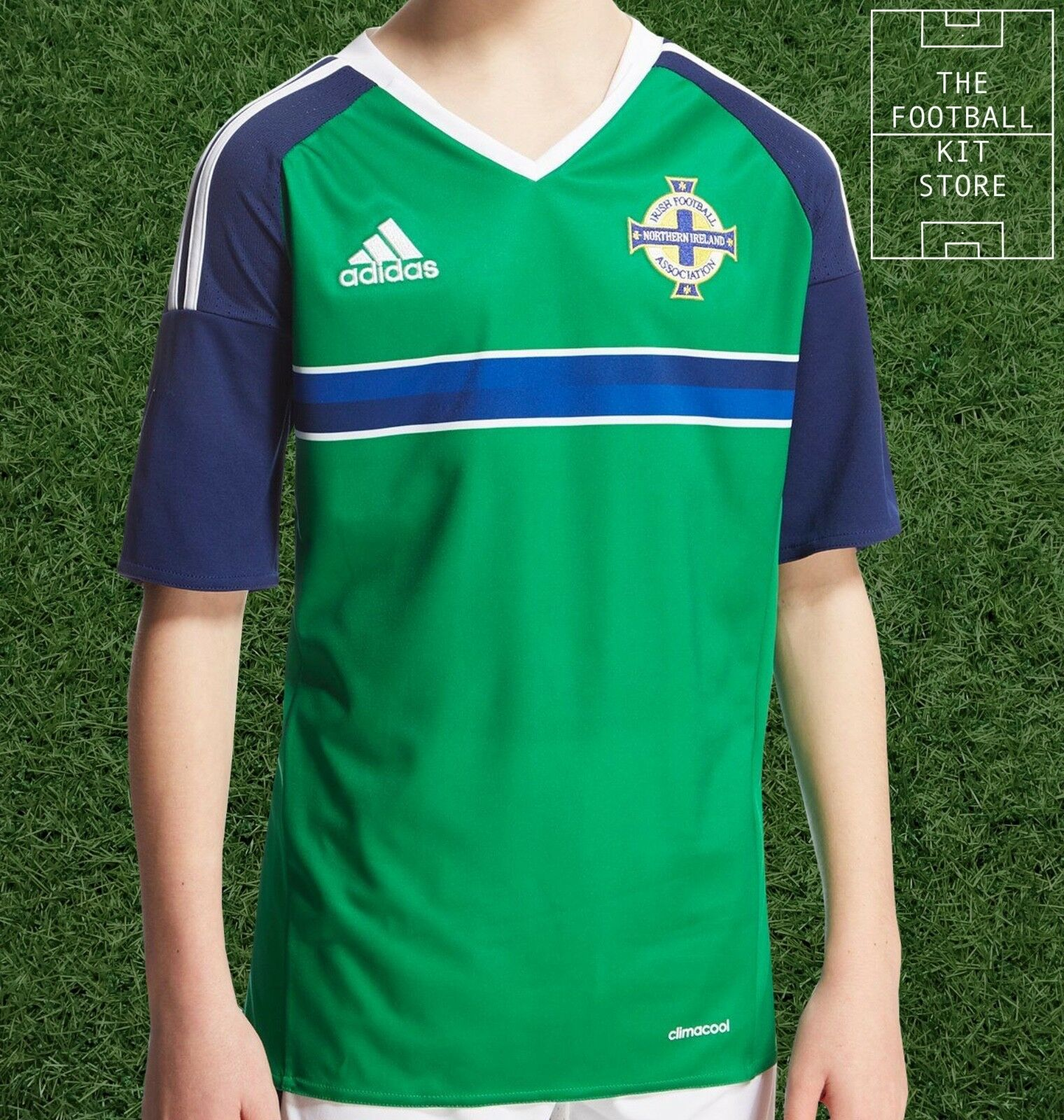 Northern Ireland Home Shirt - Official adidas Boys Football Jersey - All Sizes