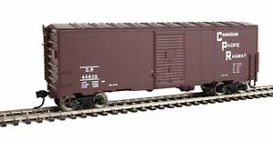 Walthers-HO-Scale-40-039-AAR-Modernized-1948-Boxcar-Canadian-Pacific-CP-Rail-44030