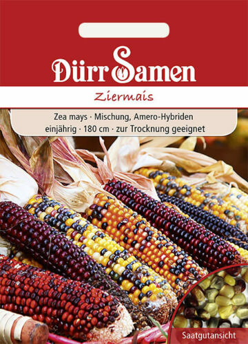 anual Flaco semillas-ziermais mezcla 180cm