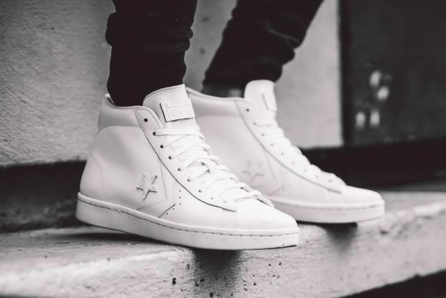 60808e8c21a Converse Pro Leather 76 Mid White Product  155335c Men 7 for sale online