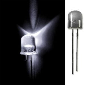 LED-10mm-WEIss-20-50-100-500-LEUCHTDIODEN-SUPERHELL-RUNDKOPF-AUSWAHL