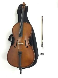 Symphony 1/4 Size Solid Wood Handmade Cello Outfit,Free Gig Bag,Bow LTC-50980