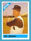 Fritsch One Year Winners Baseball Singles: #59 Rex Johnston