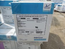 Interpon JW162QF Interpon 600 PEPSI SILVER U1578-2 Powder Coat Coating 55lbs New