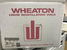 Wheaton 986644 Sampule 6ml Hdpe Liquid Scintillation Vial With 18mm Linerless