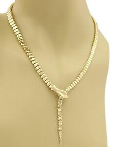 Tiffany-amp-Co-Peretti-18k-Yellow-Gold-Fancy-Snake-Collar-Necklace-Retail-12750